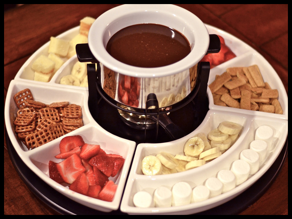 An Unexpected Valentine with Chocolate Fondue - Michele Lyn Ault