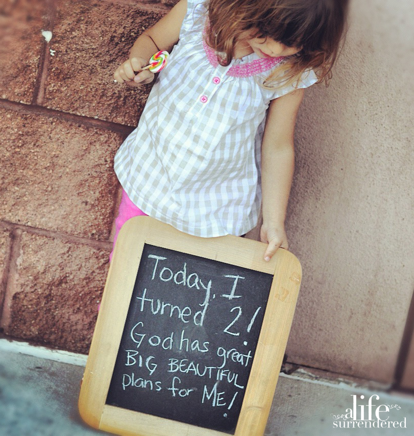 Birthday Letter to a Daughter {remember who you are}