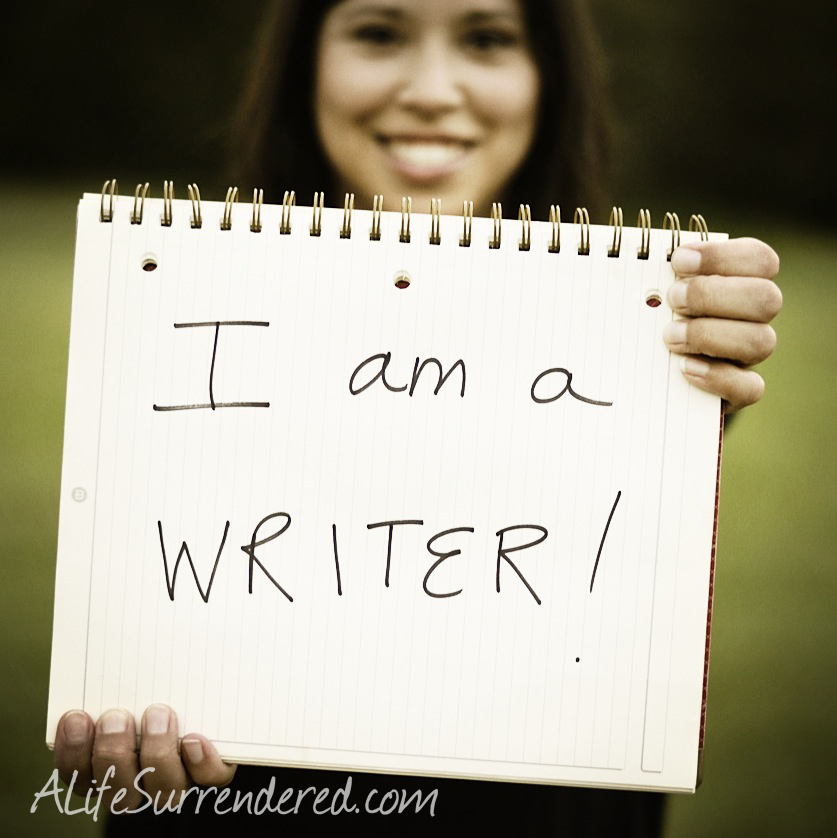 You are a Writer :: God's been waiting for my Yes…