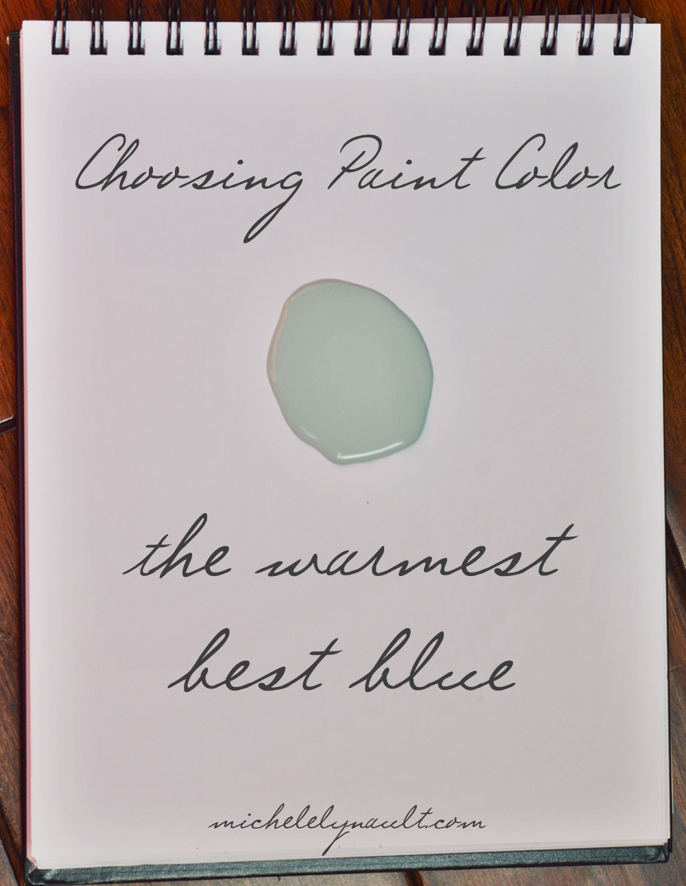 The best, most versatile blue green paint color: Hazel Sherwin Williams