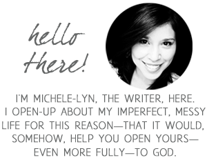 About Michele-Lyn Ault, writer at www.alifesurrendered.com