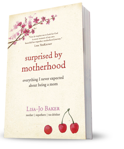Review of Surprised by Motherhood by Lisa-Jo Baker
