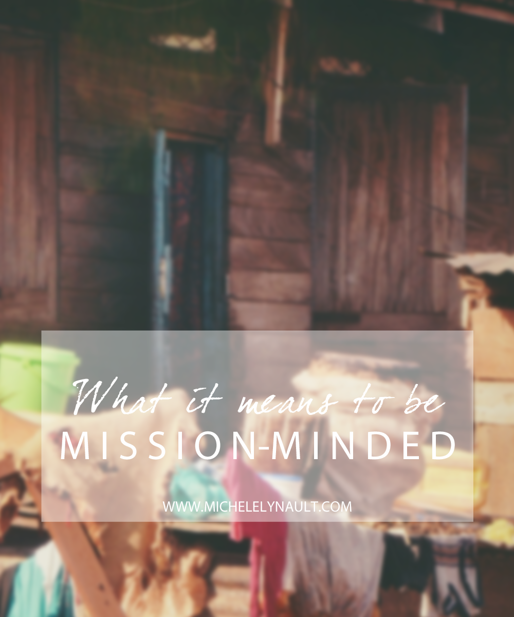 what mission minded means