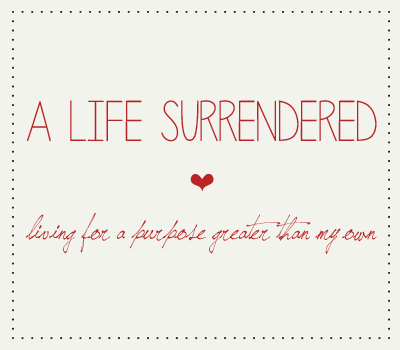 A Life Surrendered  logo